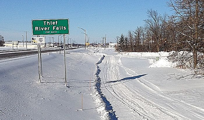 Winter in Thief River Falls. Photo by ArcticInsider.com