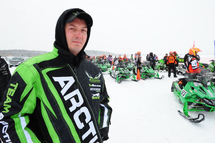 Arctic Cat engineer Lynn Berberich.