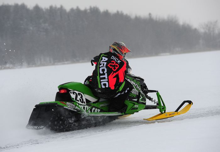 Team Arctic Cat/Christian Bros. Racing pro Brian Dick. Photo by ArcticInsider.com