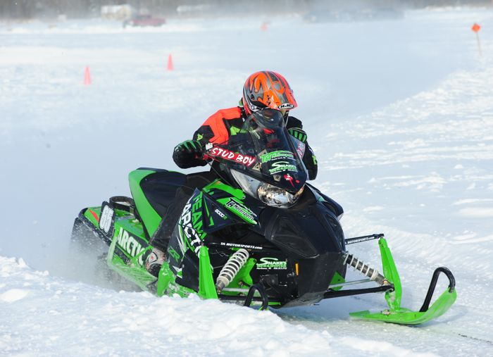 Team Arctic's Semi Pro winner, Casey Pries. Photo by ArcticInsider.com