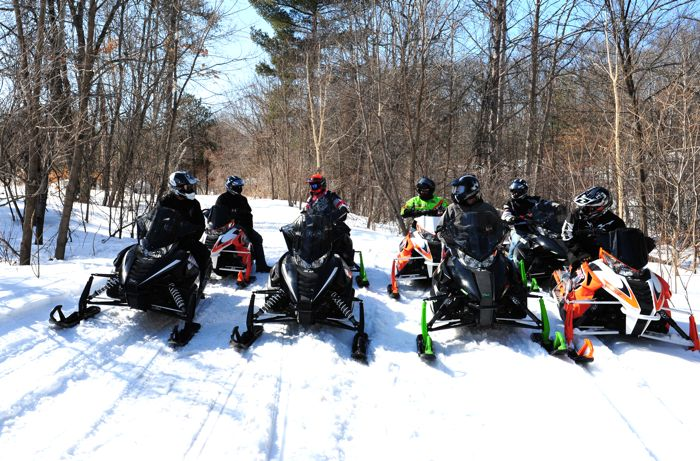 2014 Arctic Cat snowmobile Demo Ride Event