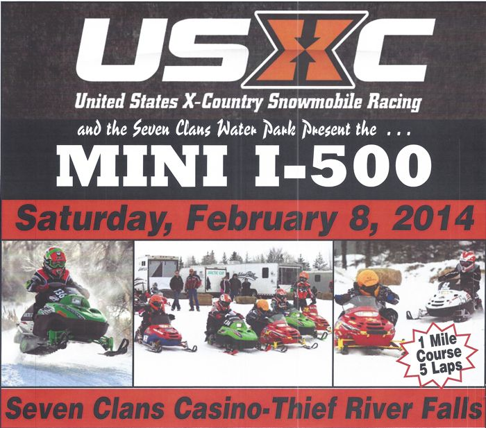 USXC Mini I-500 cross-country race