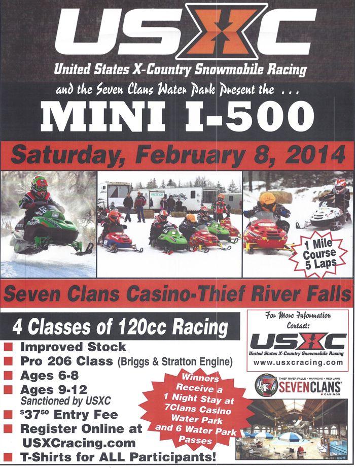 USXC Mini I-500 cross-country race