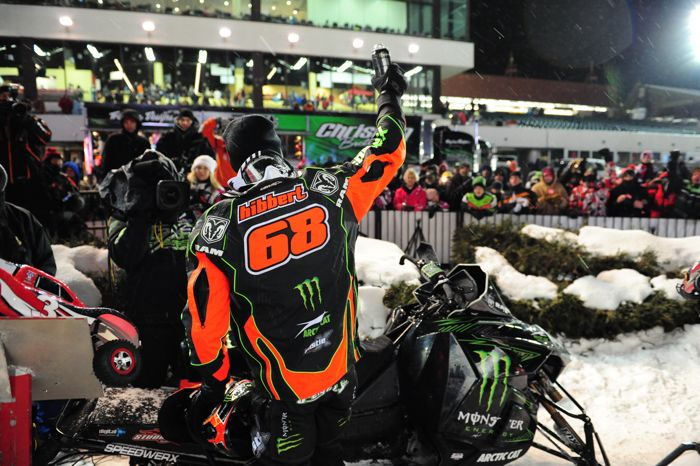 Tucker Hibbert wins 85th Pro final. Photo by ArcticInsider.com