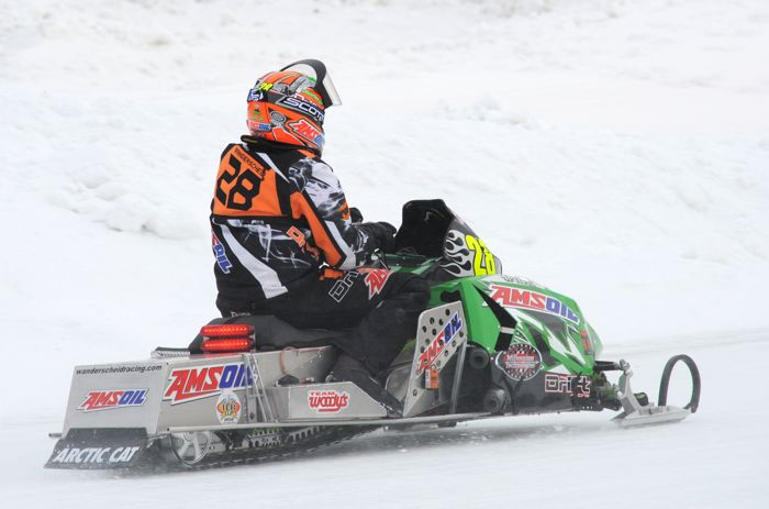 Team Arctic's P.J. Wanderscheid. 4-time World Champ.
