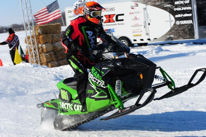 Team Arctic Cat pro Chad Lian. Photo by ArcticInsider.com
