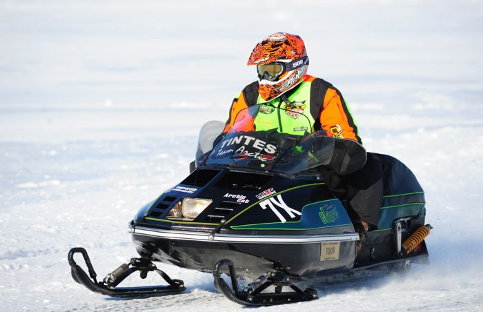 Team Arctic Cat's Gary Tintes