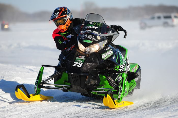 Team Arctic Cat pro Brian Dick. Photo by ArcticInsider.com