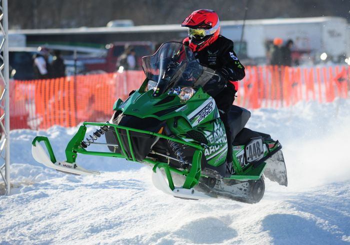 Team Arctic Cat's Ean Voigt