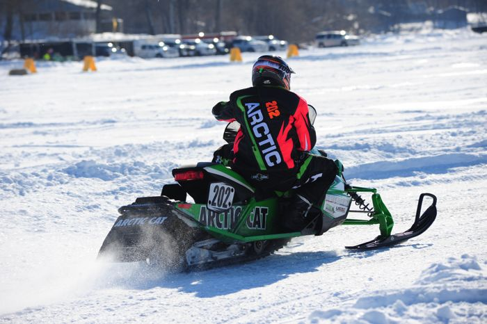 Team Arctic Cat's Hunter Houle