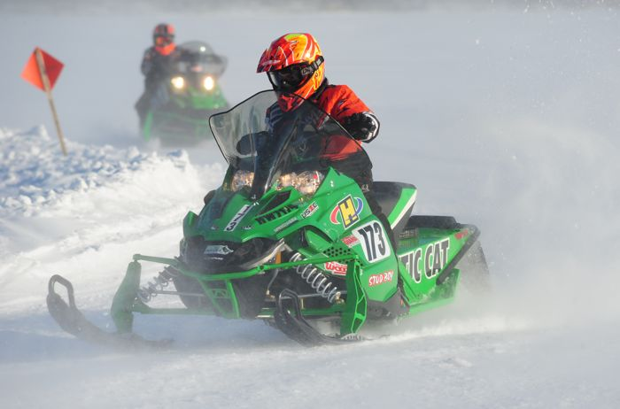 Team Arctic Cat's Paul Brown.