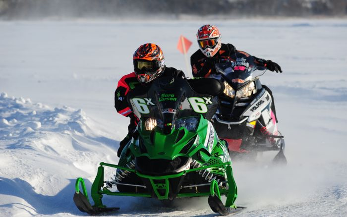 Team Arctic Cat's Sara Larson