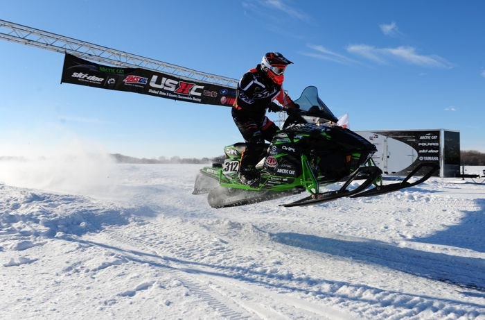 Team Arctic Cat/Christian Bros. Racing pro Zach Herfindahl. Photo: ArcticInsider.com