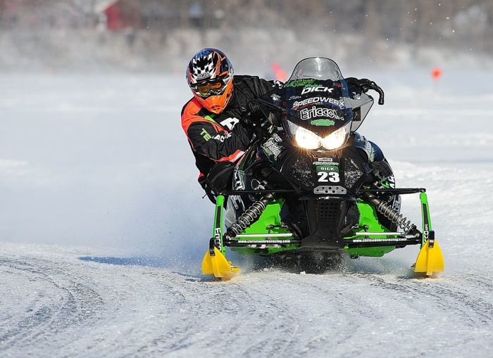 Team Arctic Cat's Brian Dick. Photo by ArcticInsider.com