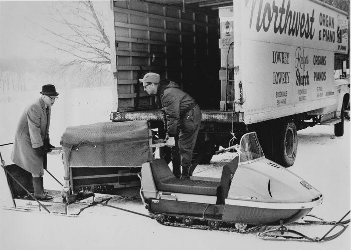 TGIF: Snowmobiles, pianos and life