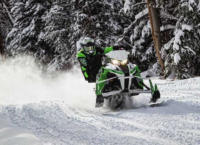 Arctic Cat Sno Pro model snowmobile