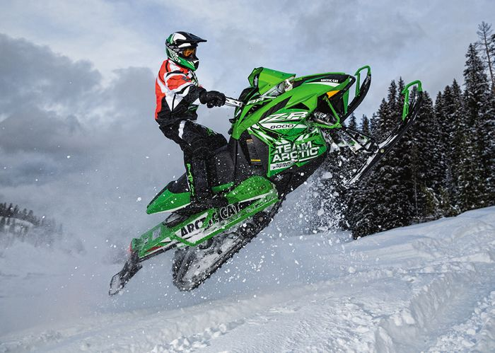 Arctic Cat ZR RR hardcore riding