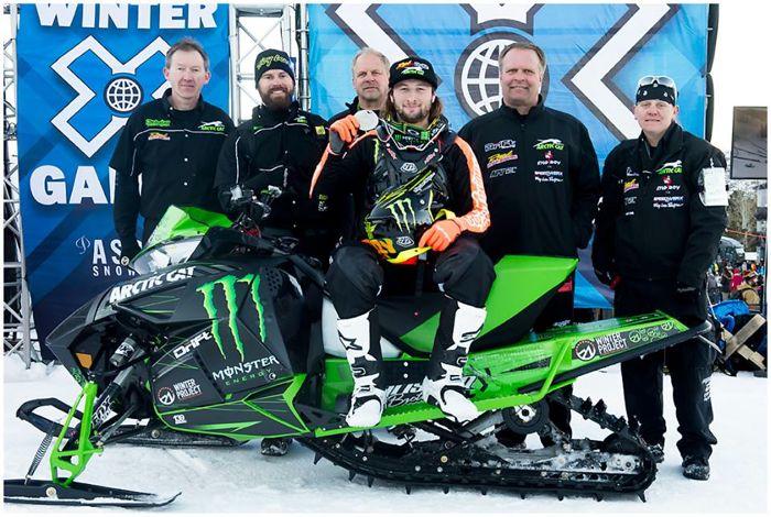 Cory Davis, Team Arctic Cat & Christian Bros. Racing