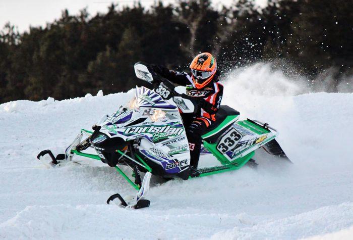 Evan Christian, Team Arctic Cat & Christian Bros. Racing
