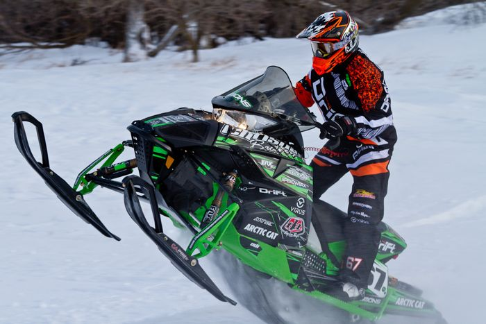 Ryan Simons, Team Arctic Cat & Christian Bros. Racing