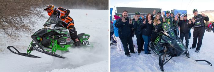 Team Arctic's Zach Herfindahl and Tucker Hibbert Won Big Last Weekend