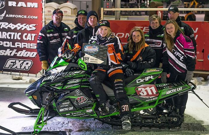 CBR and Team Arctic Cat's Marica Renheim