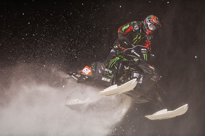 Monster Energy - Team Arctic's Tucker Hibbert. Photo: Hanson