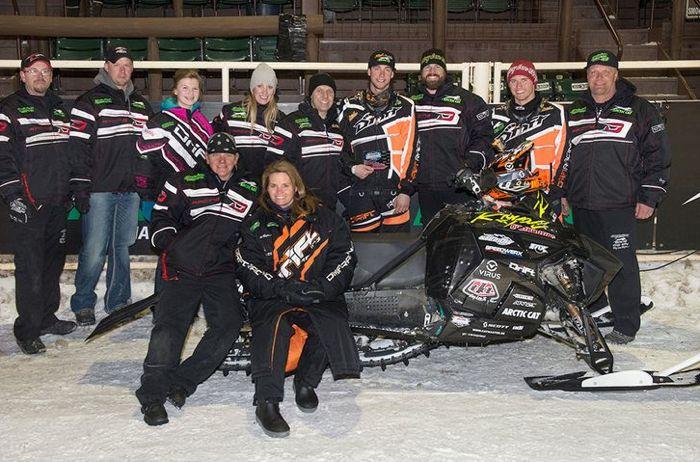 Team Arctic Cat/CBR Pro David Joanis