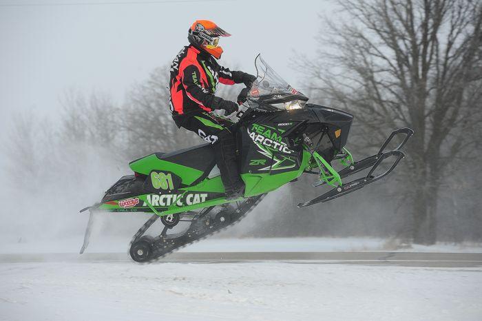 Team Arctic Cat's Chad Lian. Photo: ArcticInsider.com