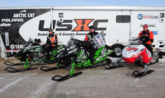 2014 USXC I-500 top-3: Brian Dick (M), Zach Herfindahl (L) and Justin Tate. ArcticInsider.com