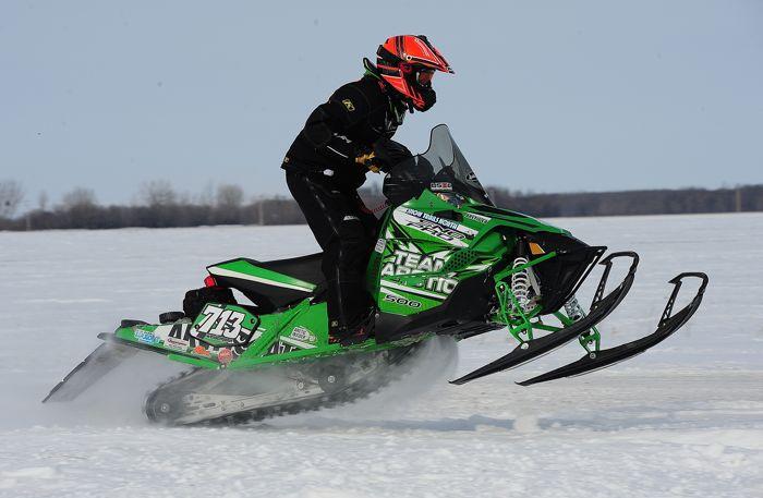 Team Arctic Cat's Ryan Weidemann