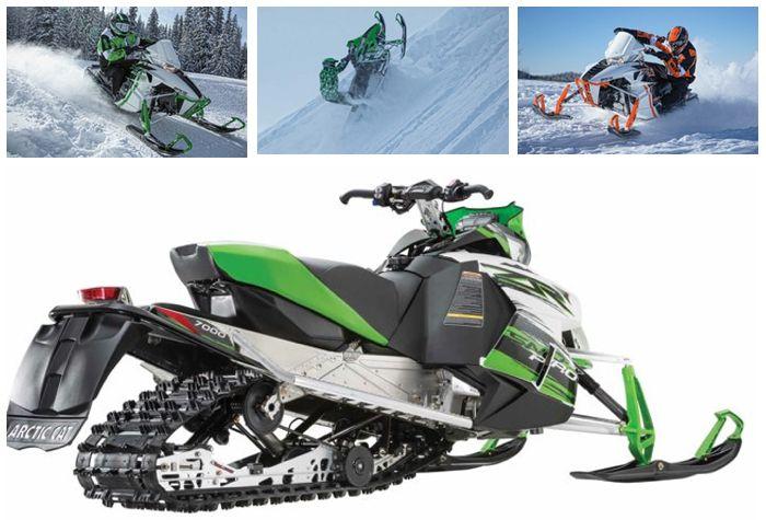 2015 Arctic Cat snowmobiles