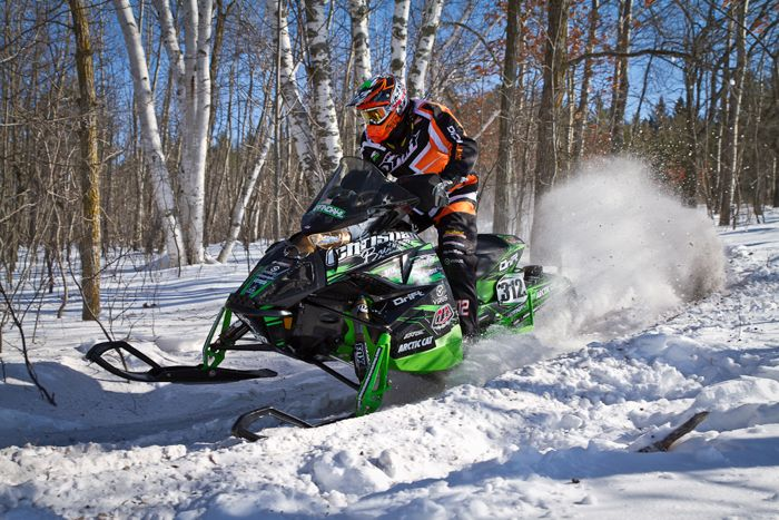 Team Arctic Cat/Christian Bros. Racing Zach Herfindahl