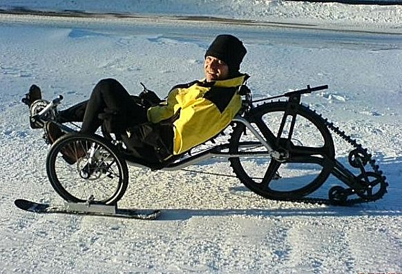 TGIF: Snowmobile biking