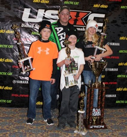 120-class cross-country snowmobile racing in USXC