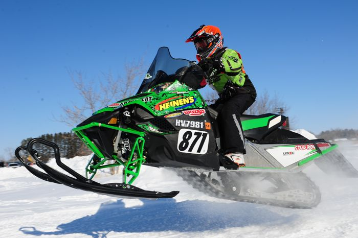 Team Arctic's David Brown wins in Warroad