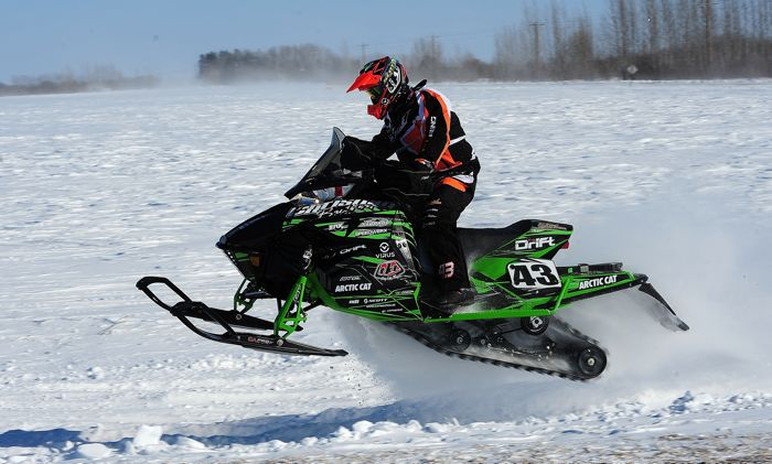 Team Arctic Cat/Christian Bros. Racing Logan Christian. Photo: arcticinsider.com