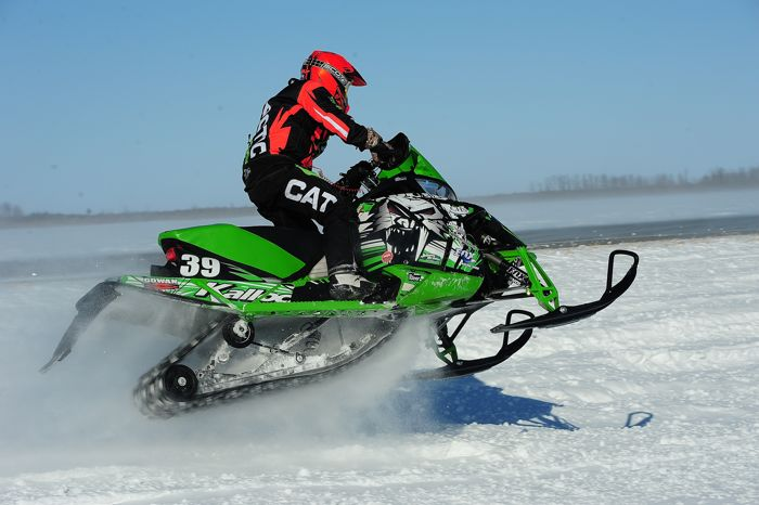 Team Arctic Cat's Cody Kallock. Photo: ArcticInsider.com