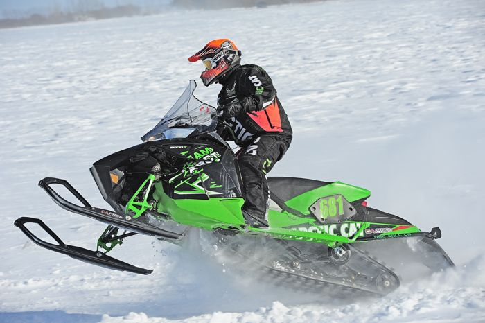 Team Arctic Cat's Chad Lian. Photo by arcticinsider.com