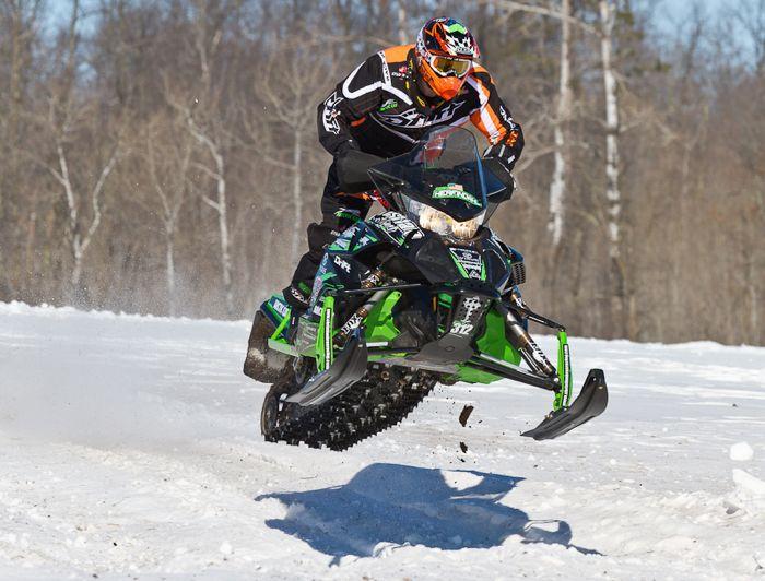 Team Arctic Cat/Christian Bros. Racing Zach Herfindahl