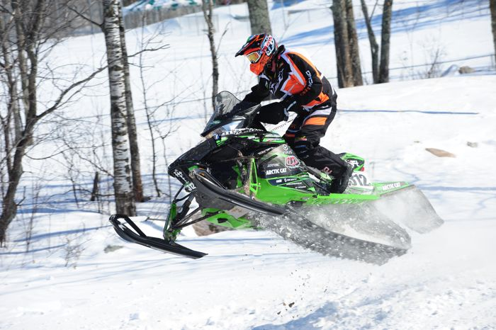 Team Arctic Cat/Christian Bros. Racing Zach Herfindahl. Photo by ArcticInsider.com