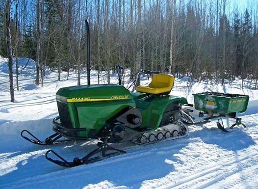 TGIF: John Deere lawn sled