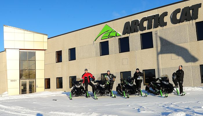 Arctic Cat HERO snowmobile trip. Photos by ArcticInsider & Pat Bourgeois
