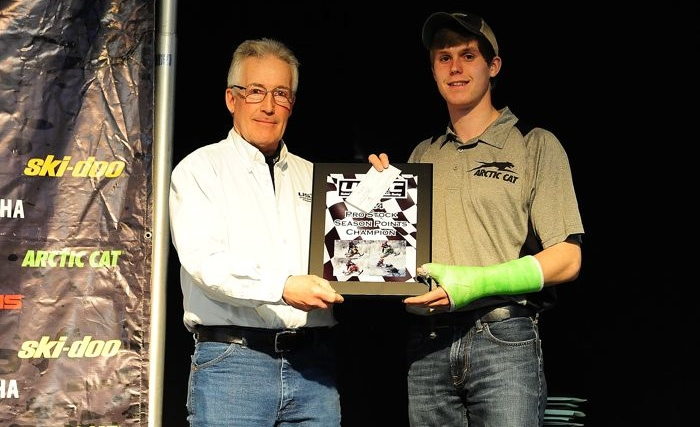 CBR/Arctic Cat Pro Stock Champ, Zach Herfindahl