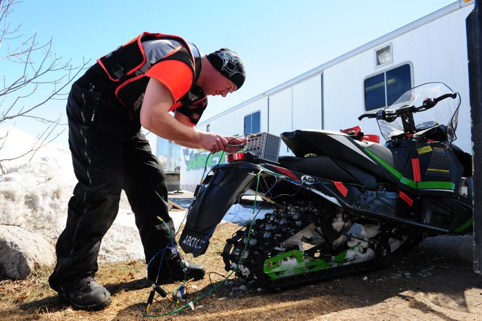 Arctic Cat's Andy Olson. Photo by Arcticinsider.com