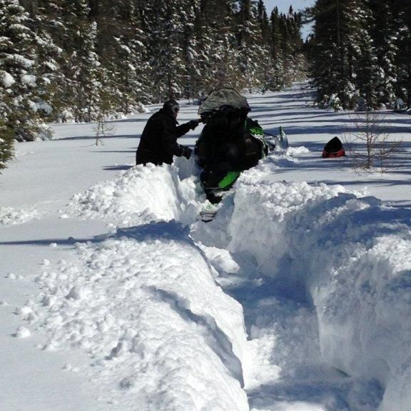Arctic Cat engineer Bart Magner gets stuck for only the second time in his career.