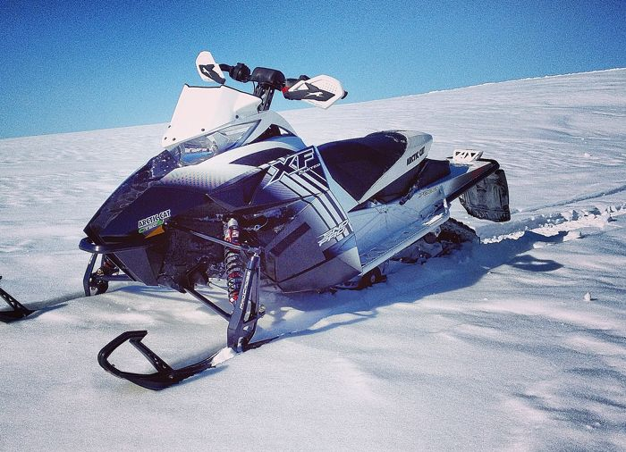 Alex Fortune's 2014 Arctic Cat XF7000 Sno Pro report.