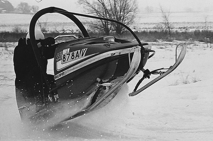 TGIF: The vintage snowmobile barbed wire beater