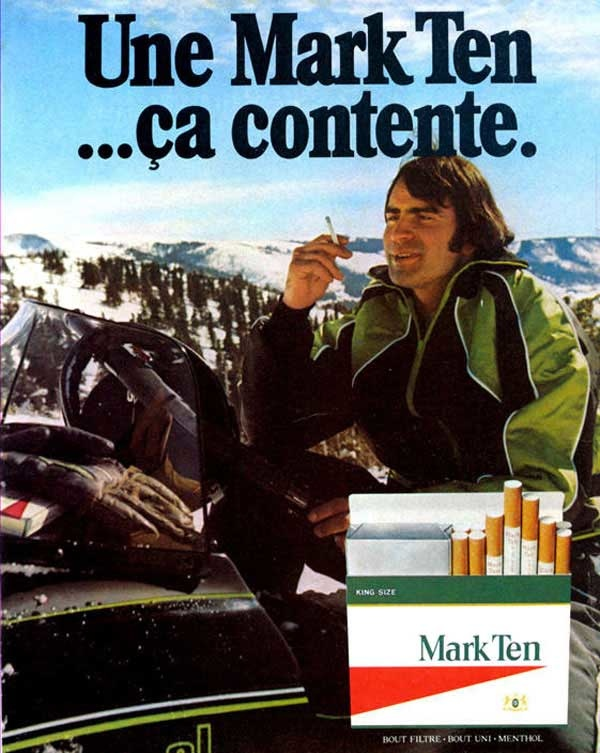 Arctic Cat snowmobiles and cigarettes: TGIF!
