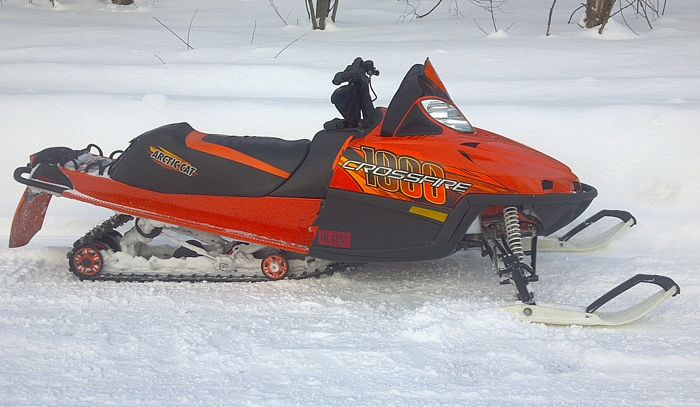 Mike Miller's Arctic Cat Crossfire Transformation snowmobile